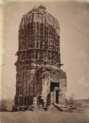 General view of stone temple east of the village of Para, Manbhum District.